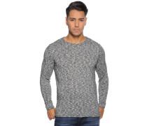 Pullover, schwarz/weiß, Herren