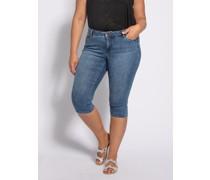 Jeans Caprijeans blau