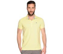 Poloshirt, Gelb, Herren