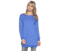 Sweatshirt, blau, Damen