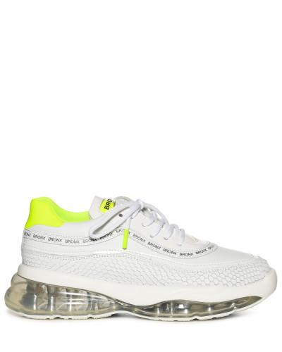 Sneaker weiß/neongelb