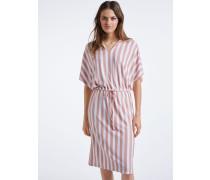 Kleid rosa/weiß