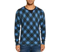 Pullover blau/schwarz
