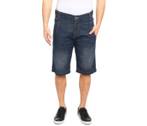 Jeansbermuda blau