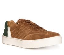 Sneaker braun/grün