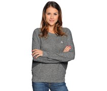 Fik Plain Sweatshirt, grey chine, Damen