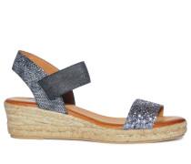 Sandaletten, Schwarz, Damen