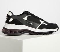 Sneaker schwarz/weiß