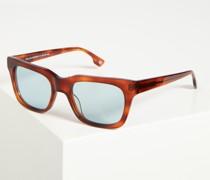 Sonnenbrille braun/blau