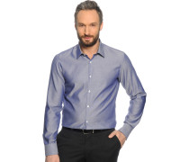 Hemd Custom Fit, graublau, Herren