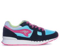 Sneaker, schwarz/pink, Damen