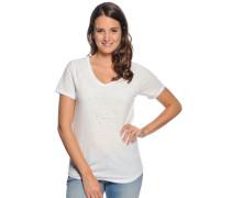 T-Shirt, offwhite meliert, Damen