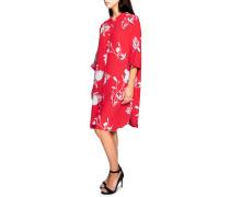 Hemdblusenkleid rot/weiß