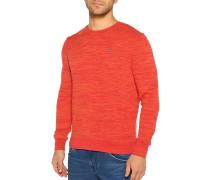 Pullover rot/orange meliert