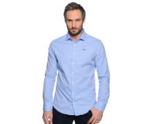 Hemd Custom Fit, hellblau/weiß, Herren