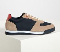 Sneaker beige/navy