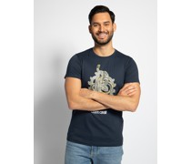 T-Shirt navy 01