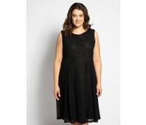 Kleid (große Größen) schwarz