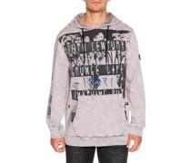 Sweatshirt grau/lila