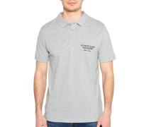 Kurzarm Poloshirt Regular Fit grau