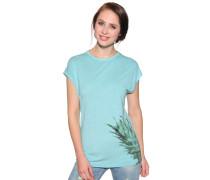T-Shirt, Türkis, Damen