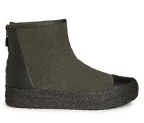 Stiefel oliv/schwarz