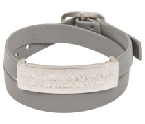 Armband grau/silber