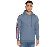 Sweatshirt blau meliert