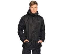 Ski-/Snowboardjacke, schwarz, Herren