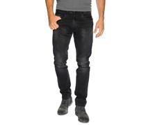 Used Jeans, schwarz, Herren