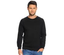 Sweatshirt, Schwarz, Herren