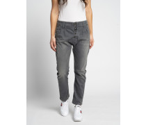 Jeans Straight anthrazit