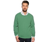 Kaschmir Pullover, grün, Herren