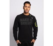 Sweatshirt schwarz