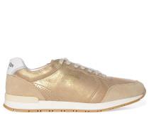 Sneaker, gold, Damen