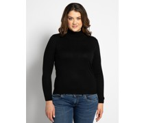 Pullover (große Größe) schwarz