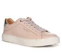 Ledersneaker rosa