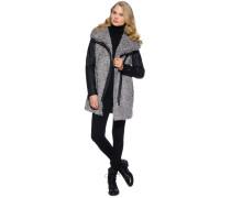 Mantel, Grau, Damen