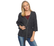 Strickjacke, anthrazit, Damen