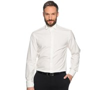 Manschettenhemd Custom Fit, offwhite, Herren