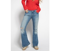 Jeans Peace graublau