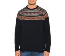 Pullover navy/multi