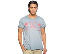 T-Shirt, graublau, Herren