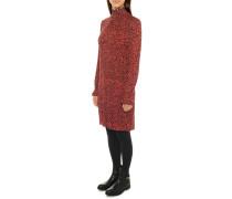 Jerseykleid rot/schwarz