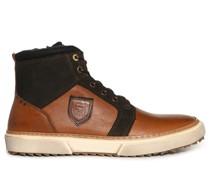 Sneaker cognac/braun
