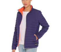 Daunenjacke lila/orange