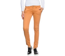 Hose, Orange, Damen