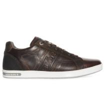 Sneaker, dunkelbraun, Herren
