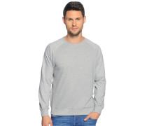 Sweatshirt, grau meliert, Herren