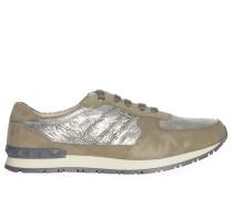 Sneaker, taupe, Damen